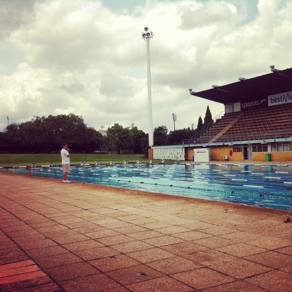 Træningspoolen i Sydafrika